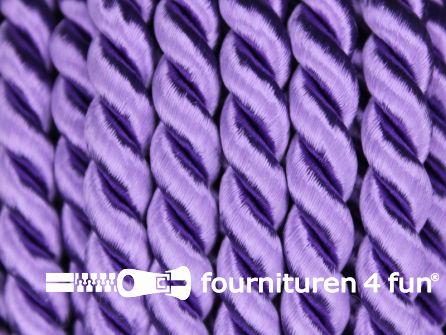 Viscose meubel koord 6,5mm lila paars