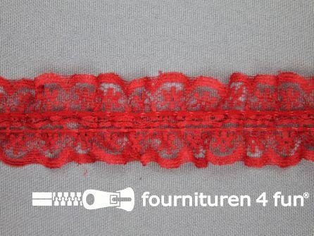 Nylon kant 28mm rood