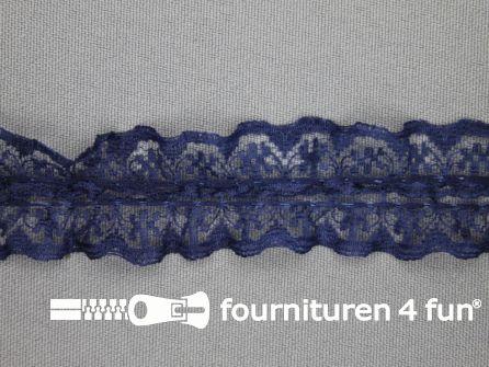 Nylon kant 28mm marine blauw