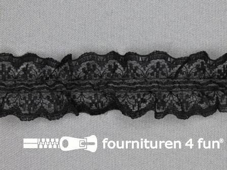Nylon kant 28mm zwart