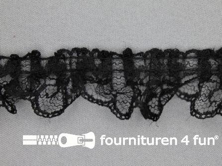 Nylon kant 32mm zwart