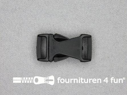 Parachute gesp 10mm zwart