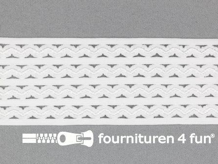 Tutu elastiek 50mm wit