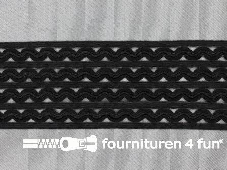 Tutu elastiek 50mm zwart