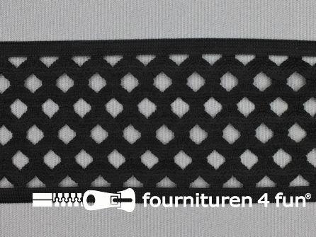 Tutu elastiek 70mm zwart