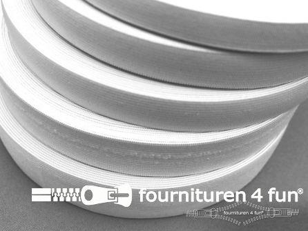 Band elastiek 25mm soepel rol wit 40 meter