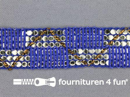 Party band 26mm kobalt blauw