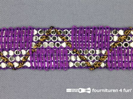 Party band 26mm purper paars
