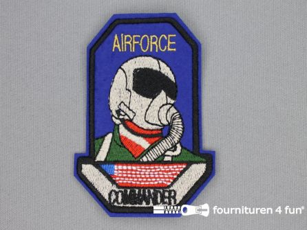 Army / Space applicatie 72x103mm Airforce Commander