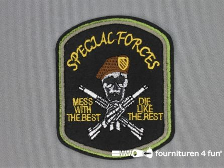 Army / Space applicatie 73x90mm Special Forces
