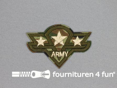 Army / Space applicatie 72x48mm Army