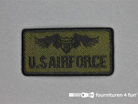 Army / Space applicatie 88x45mm U.S.Airforce