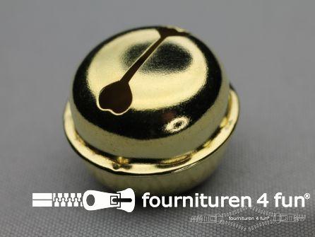 Belletjes 32mm goud 50 stuks