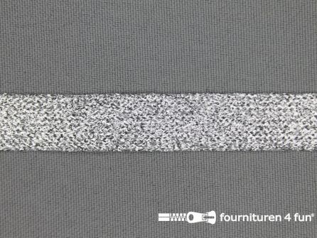 Zilver band 14mm lurex