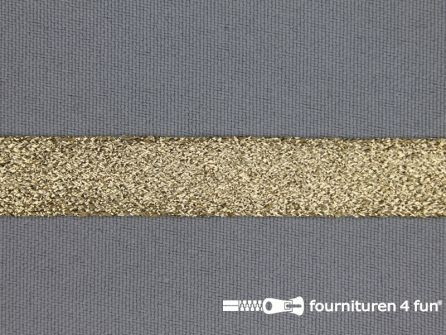 Goud band 14mm lurex