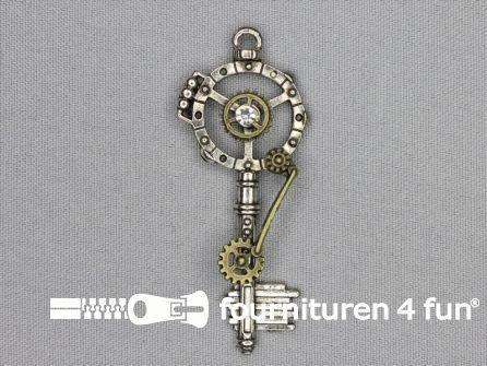 Steampunk hanger 67x27mm sleutel