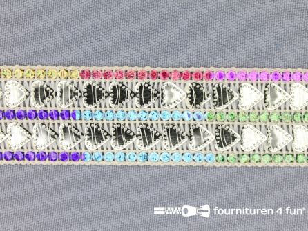 Party band 27mm multicolor