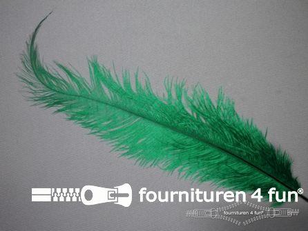 Struisvogelveer 250mm - 300mm groen