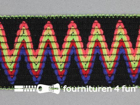 Elastiek multicolor 65mm
