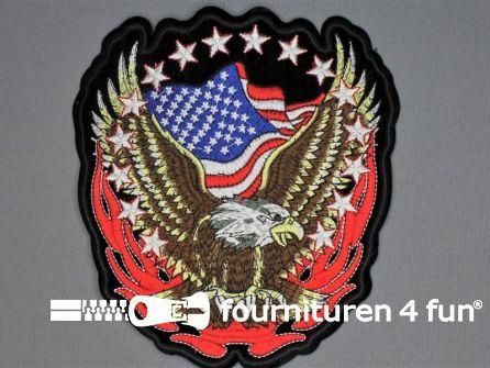 Rug patch 175x195mm America
