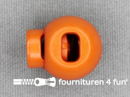 Koord stopper 18mm bal oranje