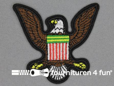 Army / Space applicatie 67x60mm adelaar