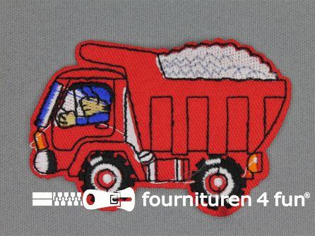 Boys applicatie 80x53mm vrachtwagen