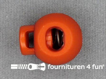 Koord stopper 22mm bal oranje