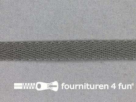 Nylon keperband 10mm lever grijs