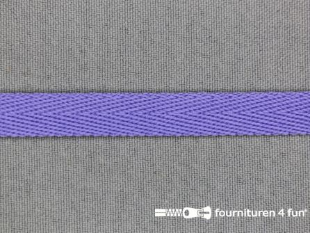 Nylon keperband 10mm milka paars