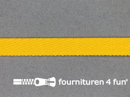 Nylon keperband 10mm mais geel