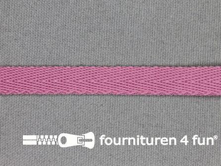 Nylon keperband 10mm oud roze