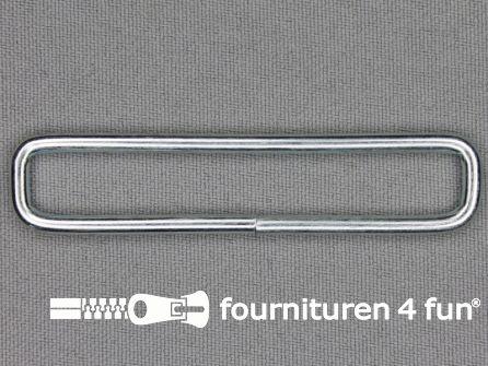 Schuifpassant 65mm zilver