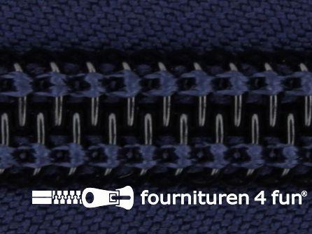 Deelbare tent rits nylon 10mm marine blauw