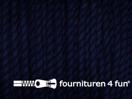 Katoen polyester koord 2,5mm marine blauw