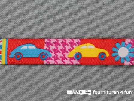 Kinderband 14mm auto - vlag
