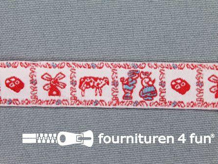 Kinderband 14mm holland rood
