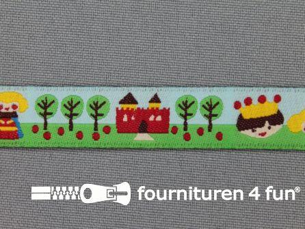 Kinderband 14mm kasteel - koning(in)