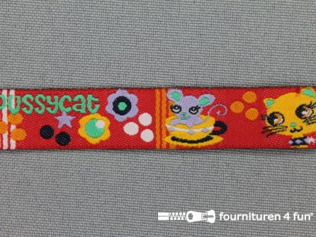 Kinderband 14mm pussycat