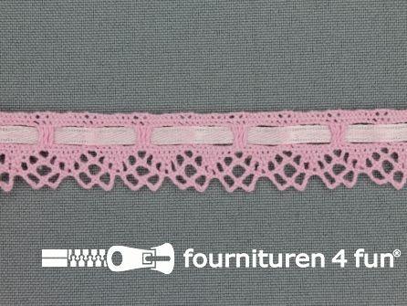Kloskant 17mm licht roze