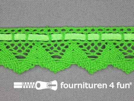 Kloskant 25mm lime groen