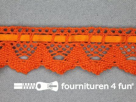 Kloskant 25mm oranje