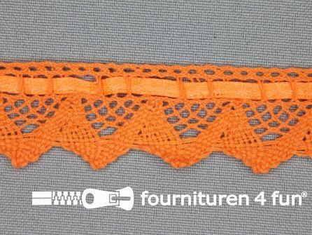 Kloskant 25mm neon oranje