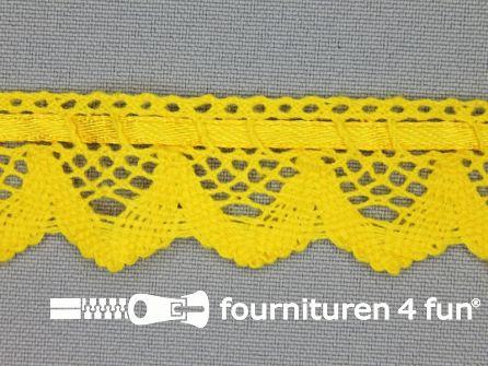 Kloskant 25mm mais geel