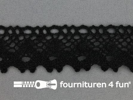 Kloskant 31mm zwart