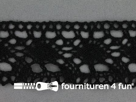 Kloskant 45mm zwart