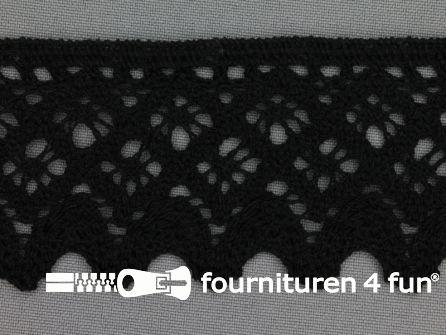 Kloskant 55mm zwart