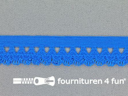 Elastisch kant 16mm kobalt blauw