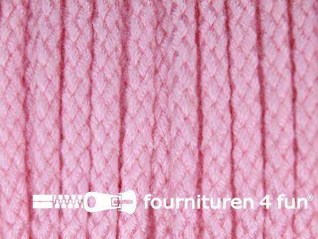 Jassen koord 4mm licht roze