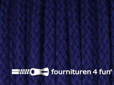 Jassen koord 4mm donker kobalt blauw